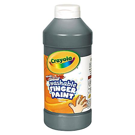 Crayola® Washable Finger Paint, 16 Oz., Black