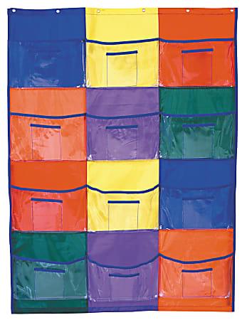 """Carson-Dellosa Library/Centers Pocket Chart, 36 1/4"""" x 50"""""""