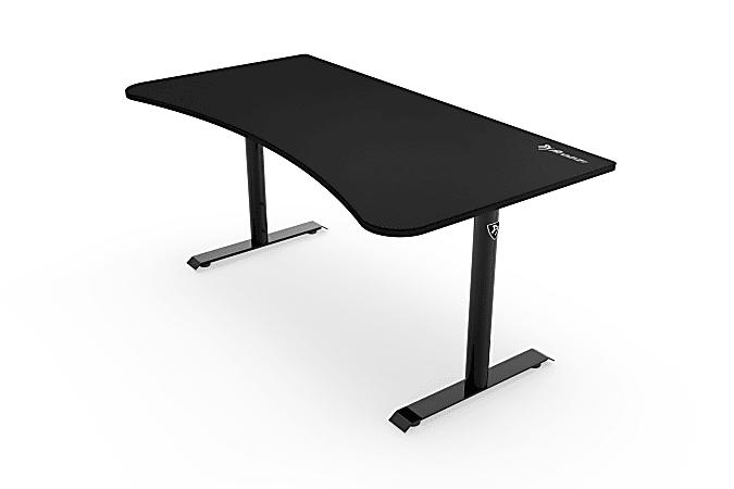 "Arozzi Arena 63""W Gaming Desk, Pure Black"