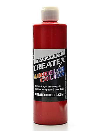 Createx Airbrush Colors, Transparent, 16 Oz, Brite Red