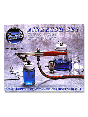 Paasche Model H Single-Action Airbrush Set