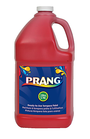 Prang® Ready-To-Use Tempera Paint, 128 Oz., Red