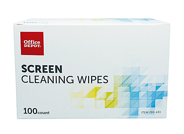 Office Depot® Brand Screen Cleaning Wipes, Pack Of 100