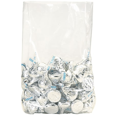 """Office Depot® Brand 3 Mil Gusseted Poly Bags 15"""" x 9"""" x 24"""", Box of 250"""