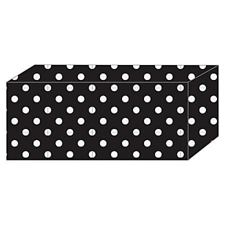Ashley B/W Polka Dot Magnetic Blocks - Heavy Duty - 5 / Pack - Multicolor