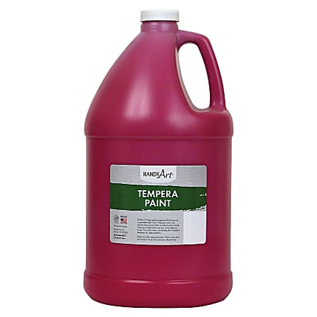 Handy Art Premium Tempera Paint Gallon - 1 gal - 1 Each - Magenta