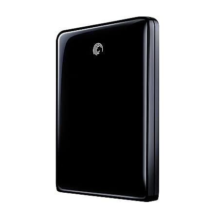 Seagate® FreeAgent® GoFlex™ 500GB Ultra-Portable External Hard Drive, 8MB Cache, USB 3.0, Black