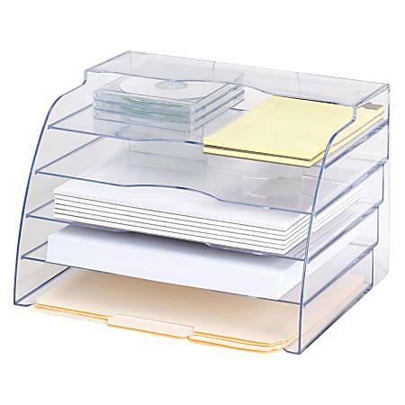 Eldon® Optimizers™ 2-Way Organizer, Clear