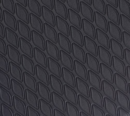 """M+A Matting Cushion Max Floor Mat, 24"""" x 36"""", Black"""