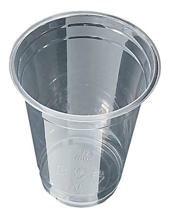 Edris Plastics PET Tall Cups, 10 Oz, Clear, Carton Of 1,000 Cups