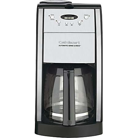 Cuisinart Grind & Brew DGB-550BK Coffee Maker - 12 Cup(s) - Multi-serve