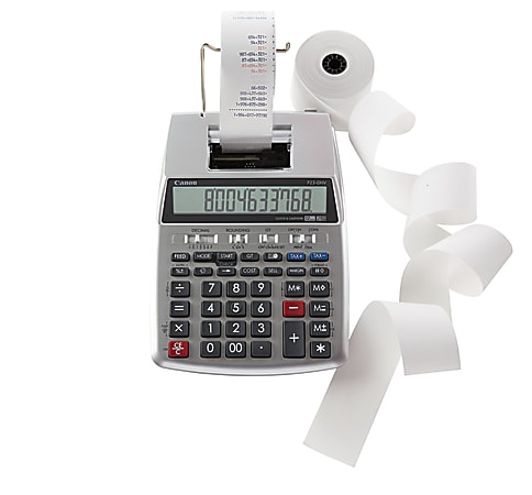 Canon P23-DHV-3 Printing Calculator, 2279C001