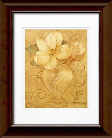 "Timeless Frames Katrina Framed Floral Artwork, 11"" x 14"", Brown, Mini Bouquet"