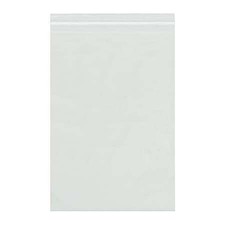 """Office Depot® Brand Reclosable 2-mil Poly Bags, 26"""" x 26"""", Clear, Case Of 250"""