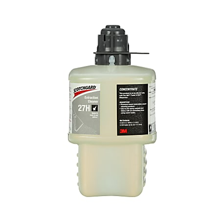 Scotchgard™ 27H Extraction Cleaner Concentrate, 67.6 Oz, Case Of 6