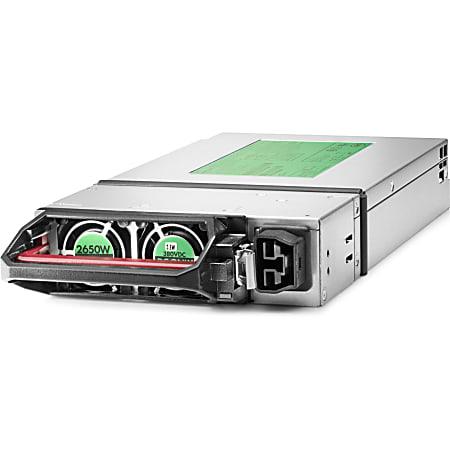 HPE 2650 Watts Platinum Hot Plug Power Supply - 220 V AC