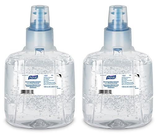 PURELL® Advanced Hand Sanitizer Green Certified Gel Refill, 1200 mL, Pack of 2