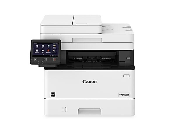 Canon® imageCLASS® MF445dw Wireless Monochrome (Black And White) Laser All-In-One Printer