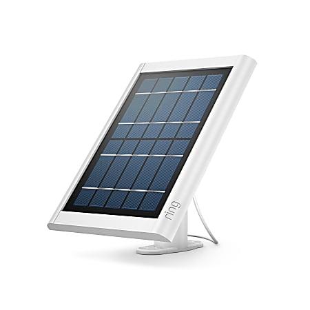 "Ring V4 Solar Panel, 7-3/4"" x 5-1/2"" x 1/2"", White"