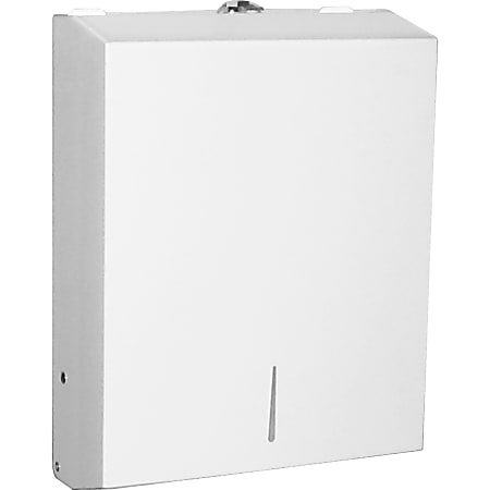 San Jamar® Paper Towel Dispenser For C-Fold Or Multifold Paper Towels