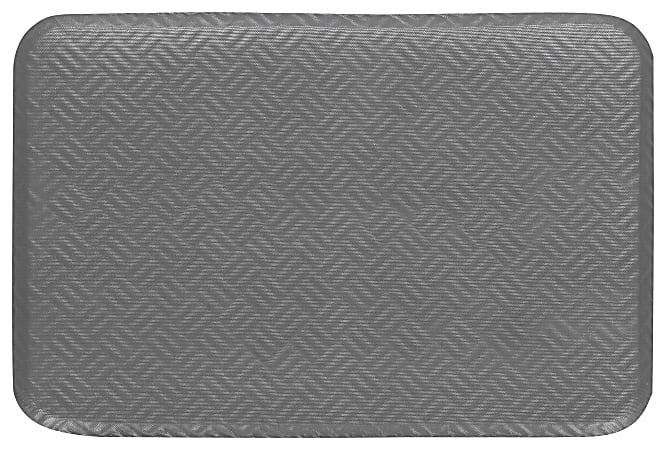 M + A Matting Hog Heaven Prime Floor Mat, 2' x 3', Graytone