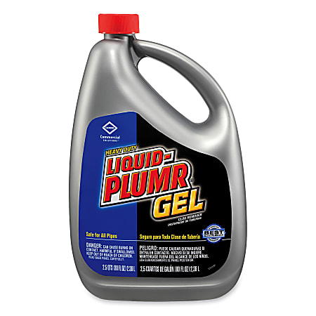 Liquid-Plumr® Heavy-Duty Clog Remover Drain Cleaner, 80 Oz.