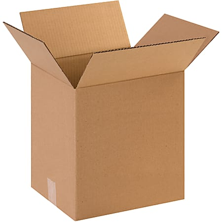 "Office Depot® Brand Corrugated Boxes, 16""H x 12""W x 16""D, 15% Recycled, Kraft, Bundle Of 25"