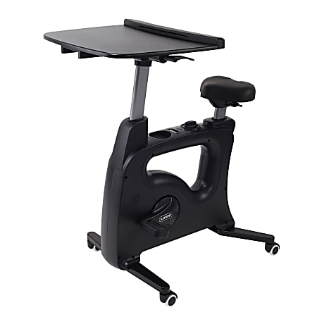 Flexispot V9 Desk Exercise Bike With Notebook Tray, Black