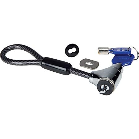 "Codi Flex-Head Desktop Lock - Galvanized Steel, Steel - 2.25"""