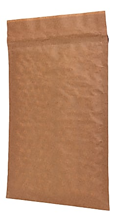 """Duck® Brand #5 Curbside Recyclable Mailer, 12"""" x 15-1/4"""", Brown"""