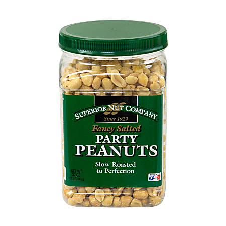 Superior Nut Fancy Salted Party Peanuts, 32 oz