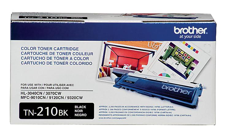 Brother® TN-210BK Black Toner Cartridge