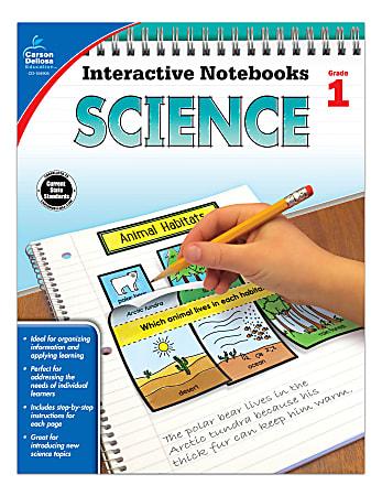 Carson-Dellosa Interactive Notebooks: Science, Grade 1