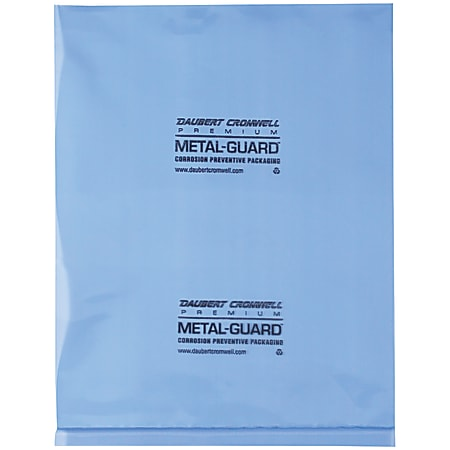 """Office Depot® Brand VCI Flat 4-mil Poly Bags, 12"""" x 18"""", Blue, Case Of 250"""