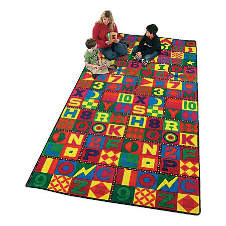 Flagship Carpets Printed Rug, 12'H x 18'W, Floors That Teach