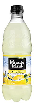 Minute Maid Lemonade, 20 Oz. Bottle