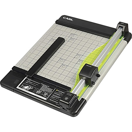 """Carl® DC-210 Heavy-Duty Rotary Paper Trimmer, 12"""""""