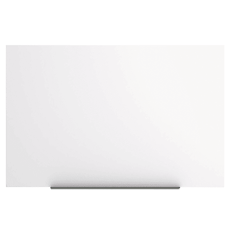 """MasterVision® Magnetic Gold Ultra™ Dry-Erase Whiteboard, 45"""" x 29"""", Aluminum Frame With Silver Finish"""