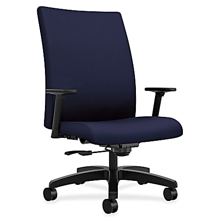 HON® Ignition® Big And Tall Mid-Back Chair, Navy