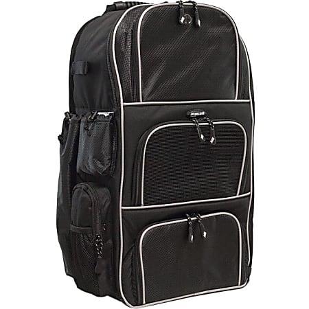 "Mobile Edge Deluxe Carrying Case (Backpack) Baseball, Softball - Ballistic Nylon, Twin Matt - Shoulder Strap - 24"" Height x 17"" Width x 10"" Depth"