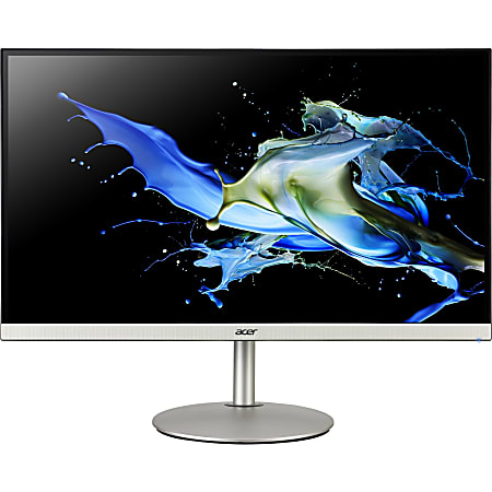 """Acer CB282K 28"""" 4K UHD LED LCD Monitor - 16:9 - Black, Silver - 28"""" Class - In-plane Switching (IPS) Technology - 3840 x 2160 - 1.07 Billion Colors - FreeSync (DisplayPort VRR) - 300 Nit - 4 ms - 60 Hz Refresh Rate - HDMI - DisplayPort"""