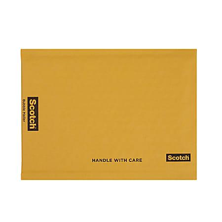 """Scotch® Bubble Mailer, 6"""" x 9"""", Size #0, Case Of 25"""