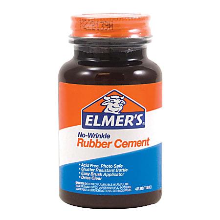 Elmer's® Rubber Cement, 4 Oz.