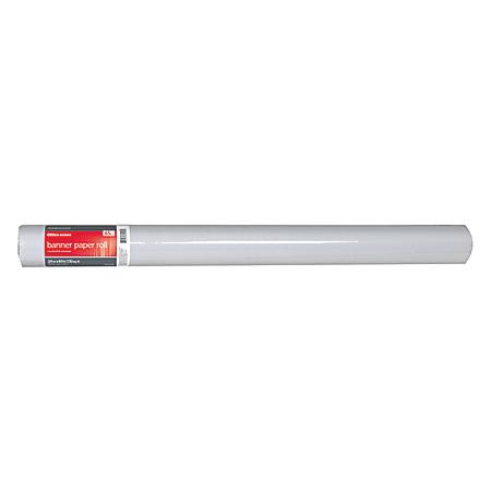 "Office Depot® Brand Multipurpose Banner Paper, 24"" x 65' Roll, 24 Lb"