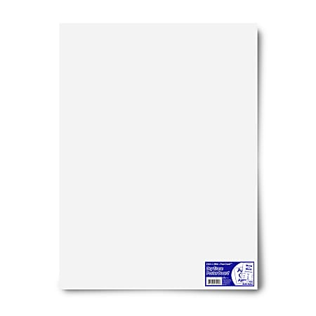 Royal Brites Dual Sided Dry Erase Poster Board 22 X 28 White Office Depot