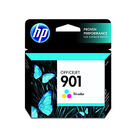 HP 901 Tricolor Original Ink Cartridge, CC656AN