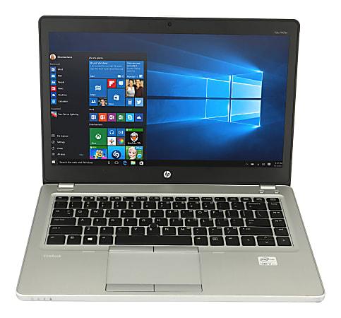 "HP EliteBook Folio 9470M Refurbished Laptop, 14"" Screen, Intel® Core™ i5, 8GB Memory, 500GB Hard Drive, Windows® 10 Pro"