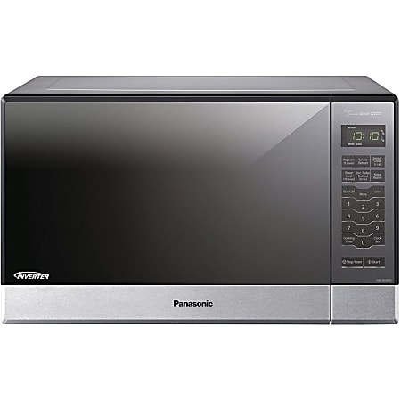 """Panasonic NN-SN686S Microwave Oven - Single - 8.98 gal Capacity - Microwave - Built-in Installation - 10 Power Levels - 1200 W Microwave Power - 13.40"""" Turntable - 120 V AC - Countertop - Stainless Steel"""