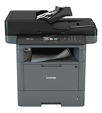 Brother® MFC-L5850DW Wireless Monochrome (Black And White) Laser All-In-One Printer