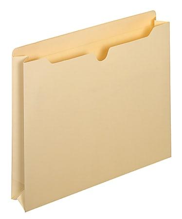 Pendaflex® File Pockets, Reinforced, Expanding, Letter Size, Manila, Pack Of 10